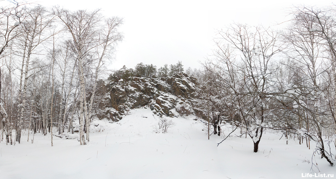 Дегтярск гора Балабан зимний поход