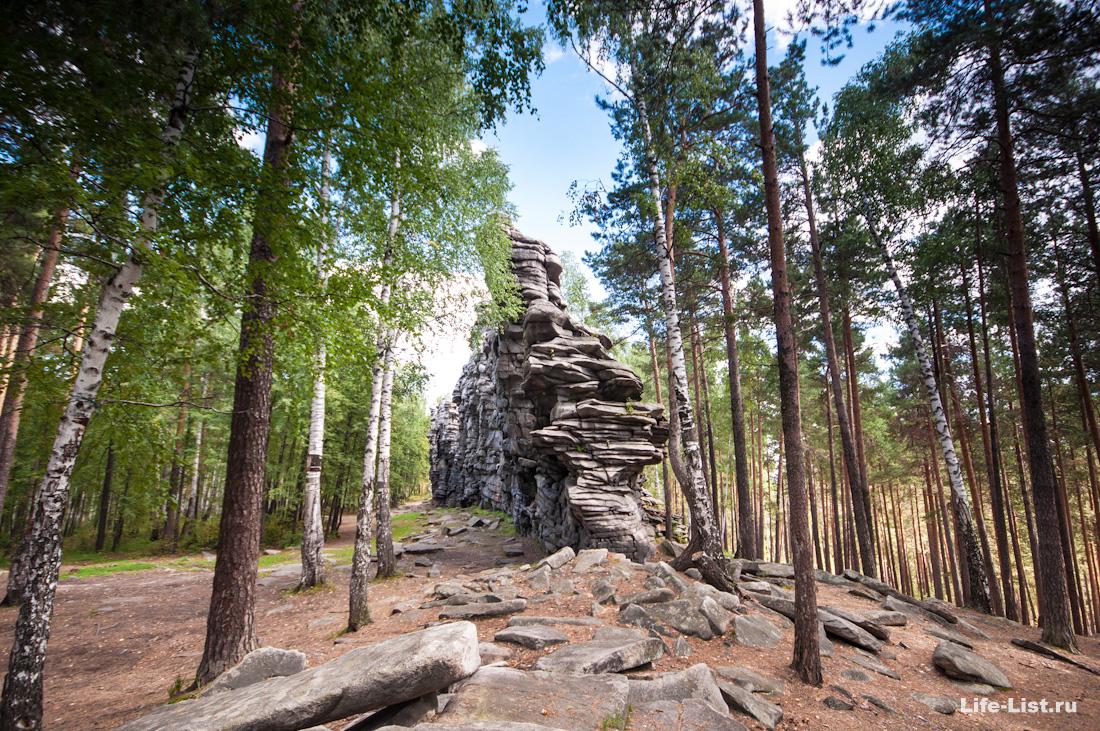 скалы чертово городище окрестности Екатеринбурга фото