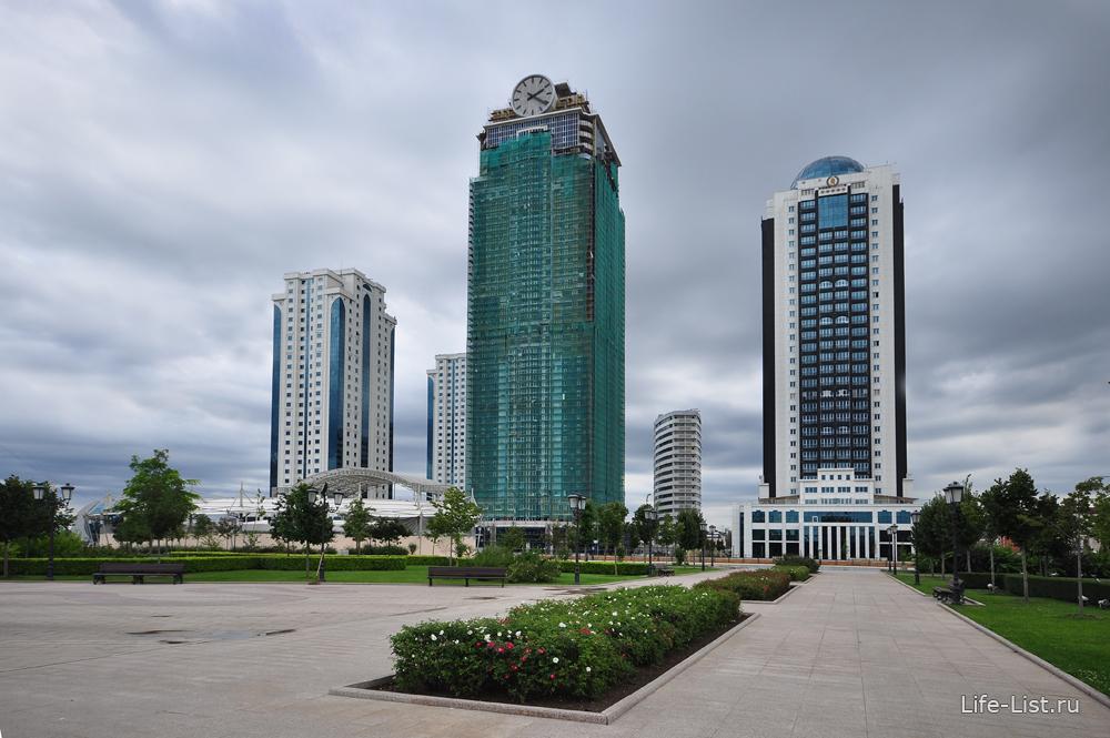 Грозный сити чеченская республика фото Виталий Караван