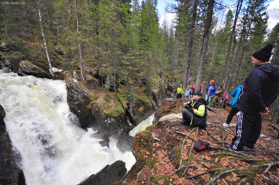 Третий Жигалановский водопад на реке Кваркуш
