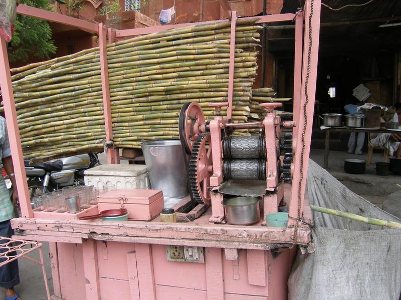 Механизм для получения тростникового сока