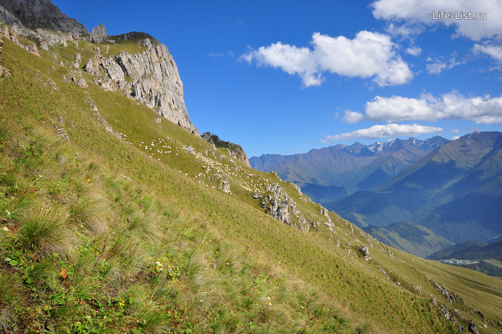 ингушетия горы Джейрахский район фото Виталий Караван Цей-Лоамский хребет