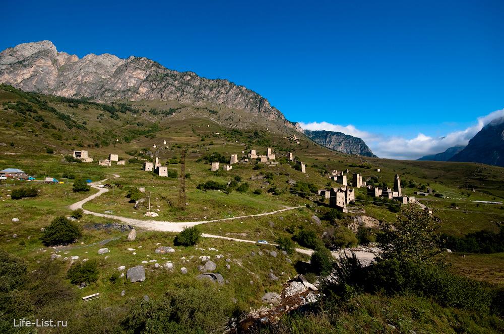 Аул эгикал боевые башни Ингушетия горы
