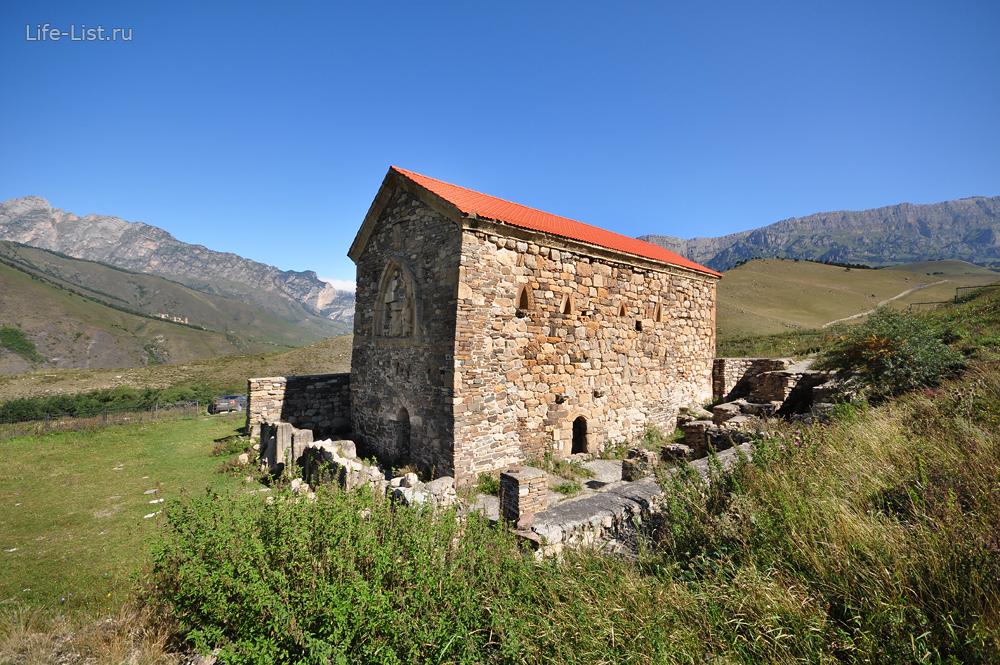 древняя христианская храм в Ингушетии Тхаба-Ерды 8-9 век