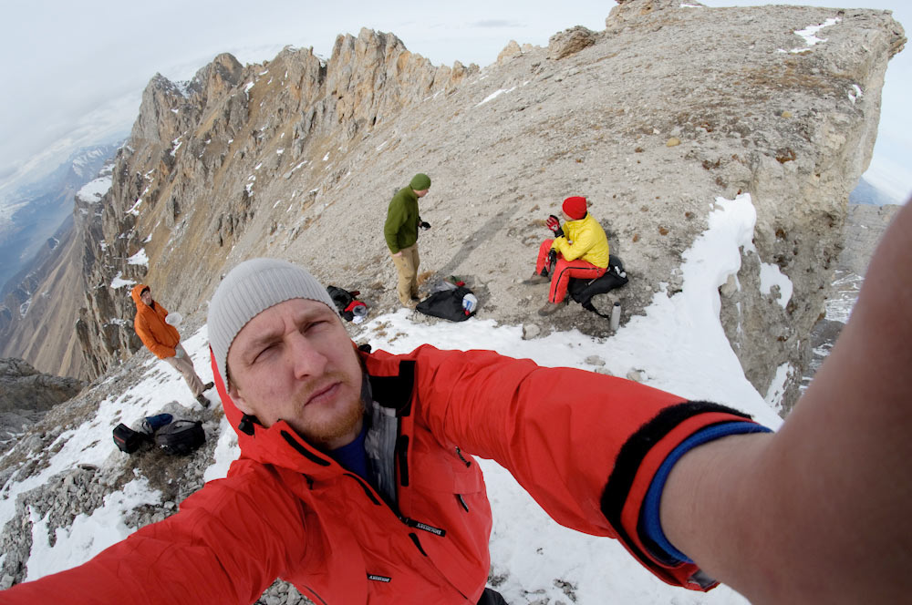 Виталий Караван в горах Ингушетии Кавказ