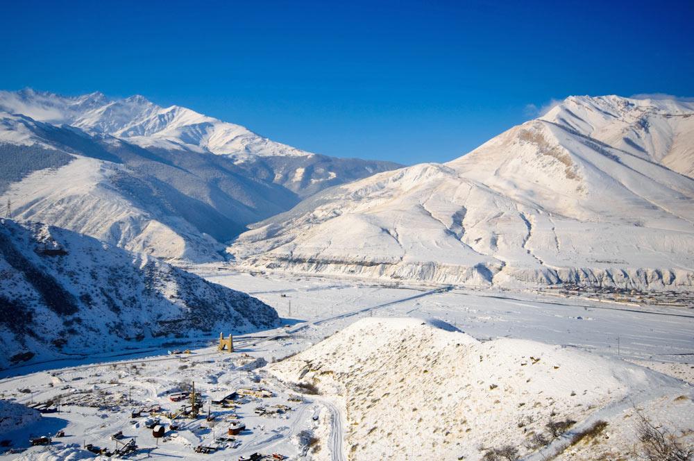 граница игушетии и северной осетии въезд в Джейражский район