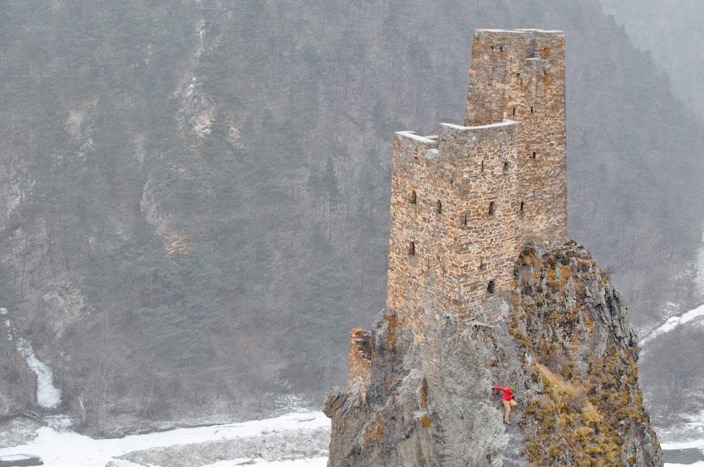 Вовнушки Ингушетия зимой