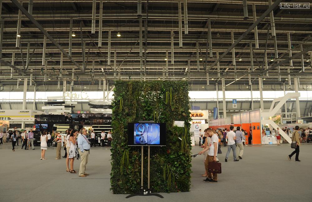 Первый павильон выставки иннопром на урале