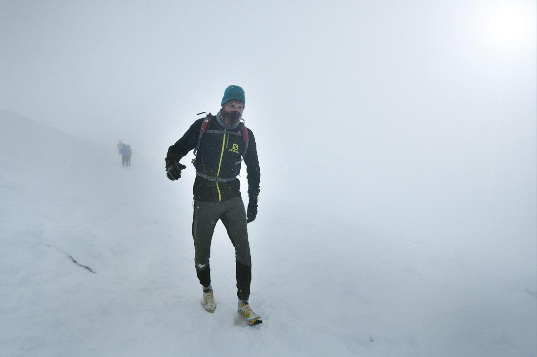 Зимний забег на гору Большой Иремель фото