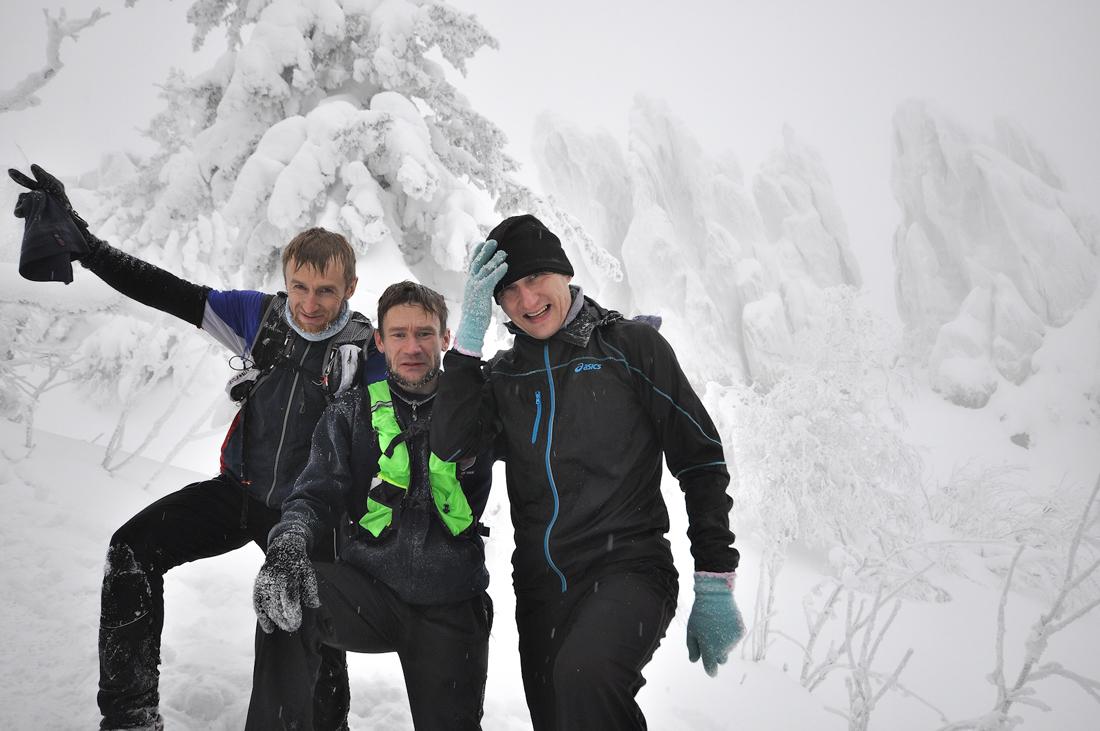 зимний забег по Таганаю парк