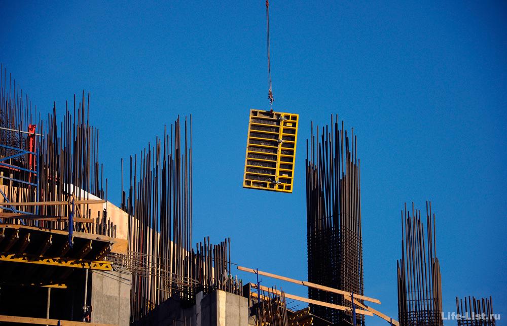 Башня исеть строительство Екатеринбург небоскреб