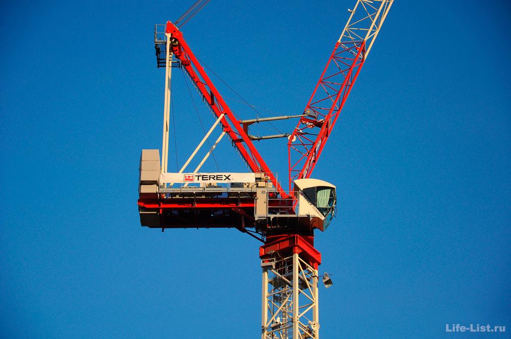 Самоподъёмный башенный кран Terex Comedil
