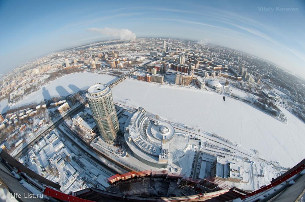 photo Vitaly Karavan башня Исеть последний этаж небоскреба в Екатеринбурге