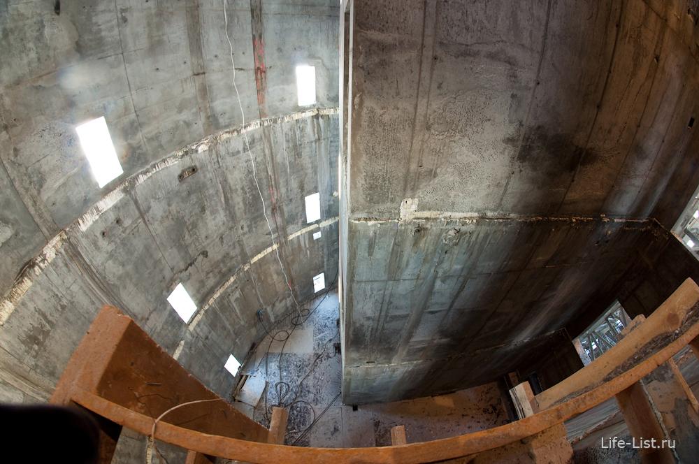 ядро башни исеть февраль 2014