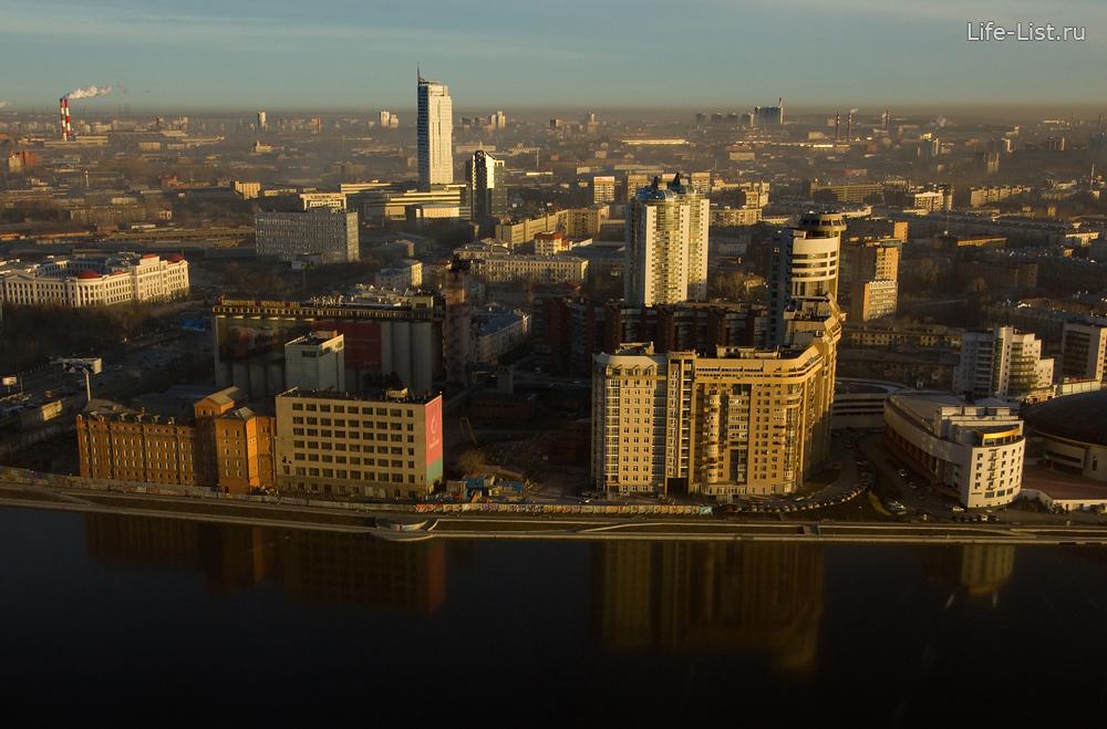 Екатеринбург с высоты красивое фото