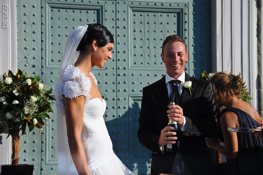 Жених и невеста в италии флоренция