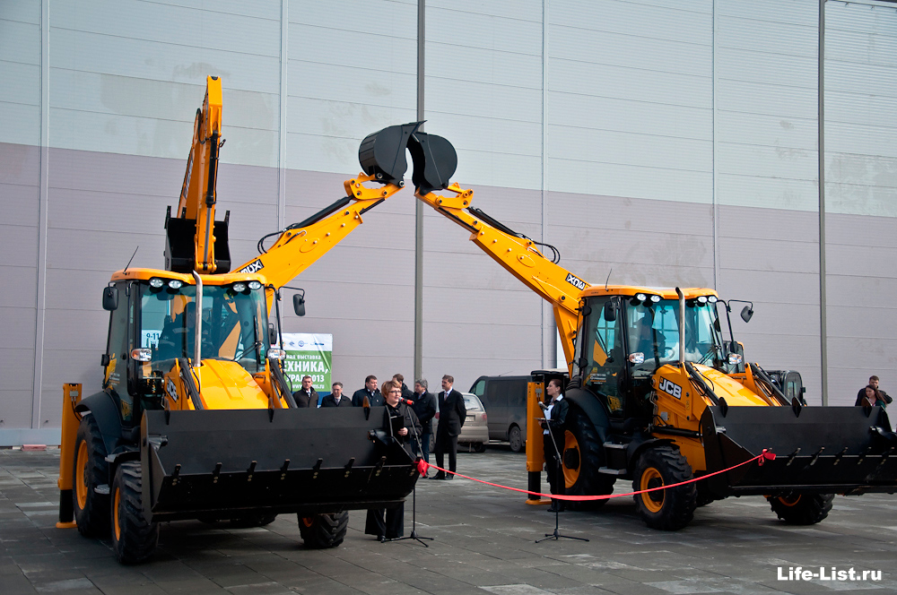 открытие строительной выставки экспо CEMMS 2013