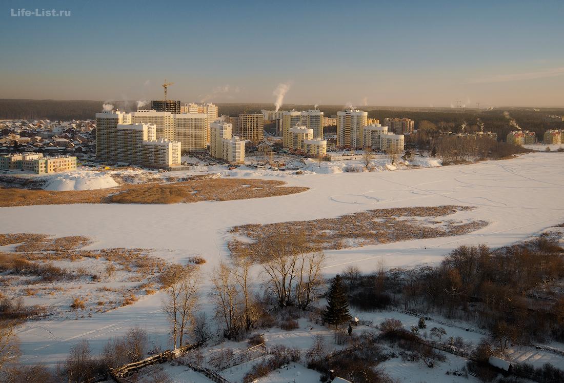 фото Екатеринбур Уктус Левобережный фото Виталий Караван индустриальный фотограф