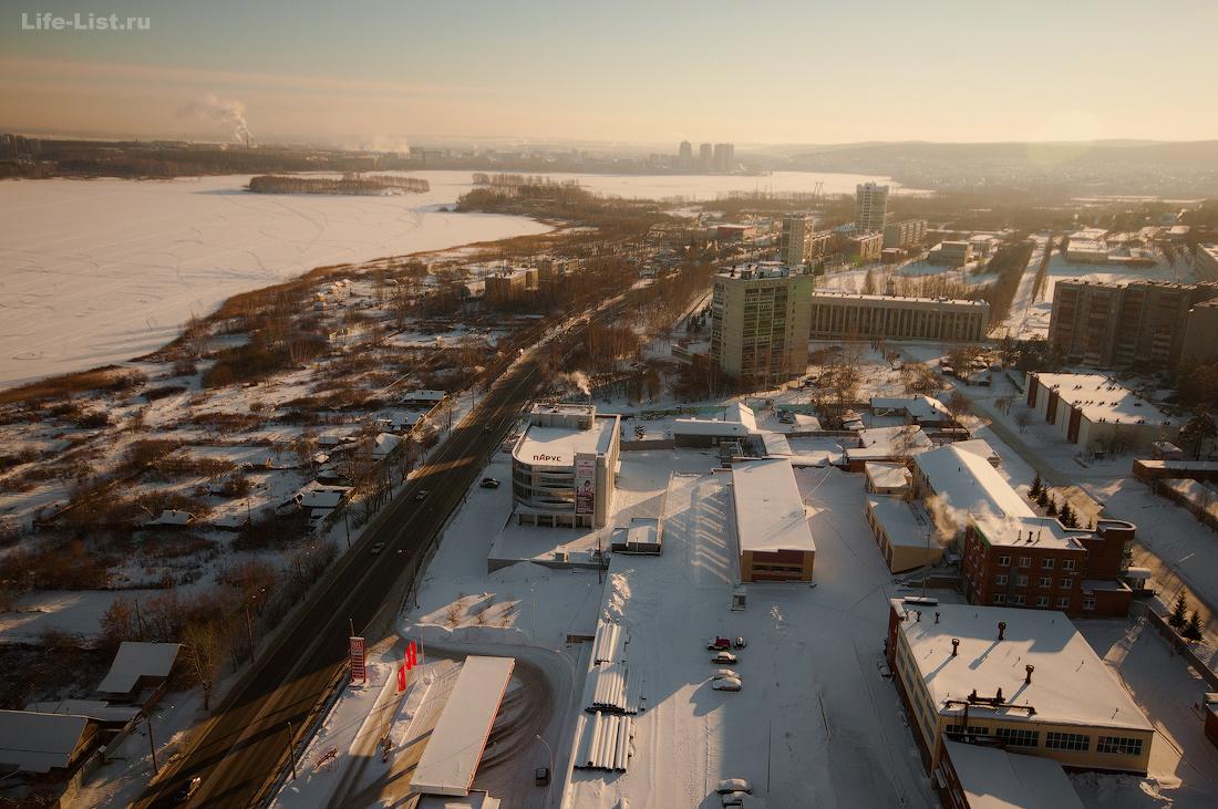 Екатеринбург фото улица Щербакова с высоты Химмаш
