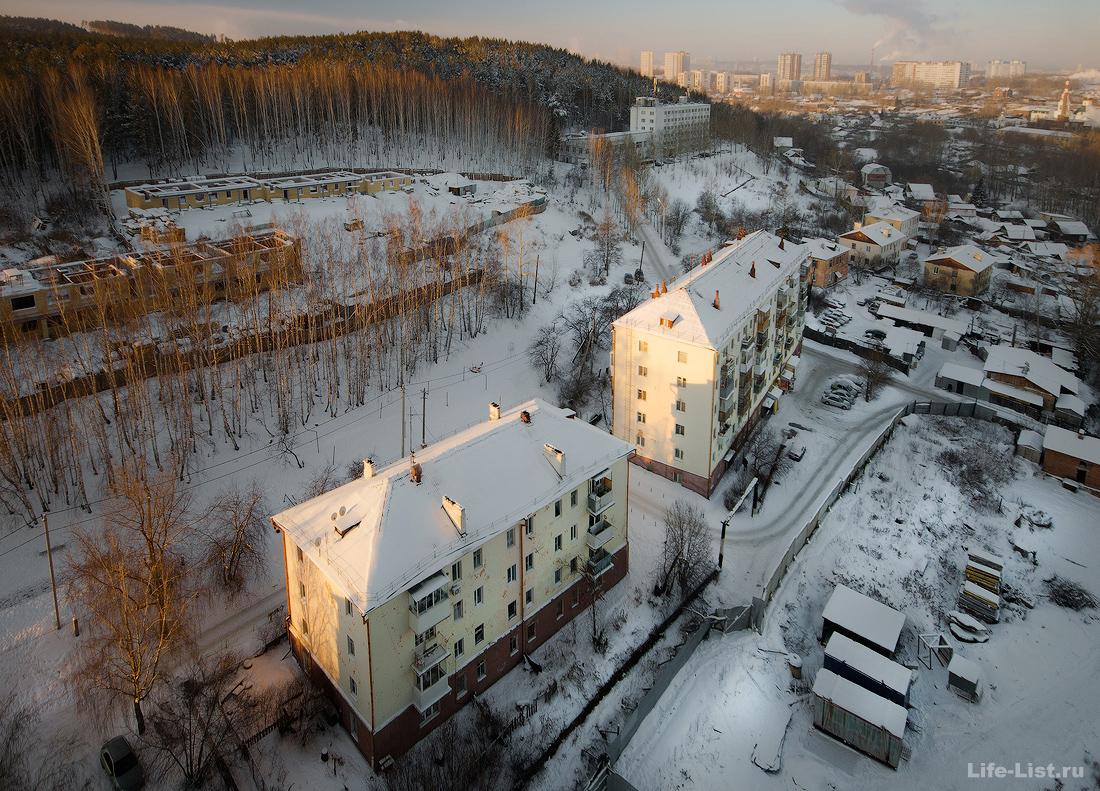 улица Прониной Уктус ЖК Уктуская долина Екатеринбург