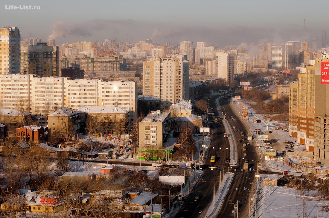 улица Щербакова перекресток Лыжников Щербакова