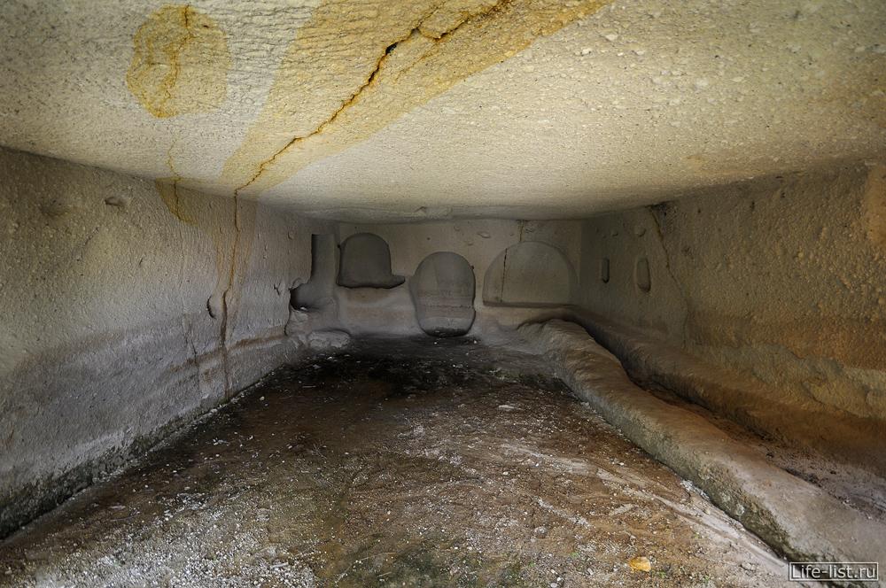 Комната в скале Каппадокия Турция