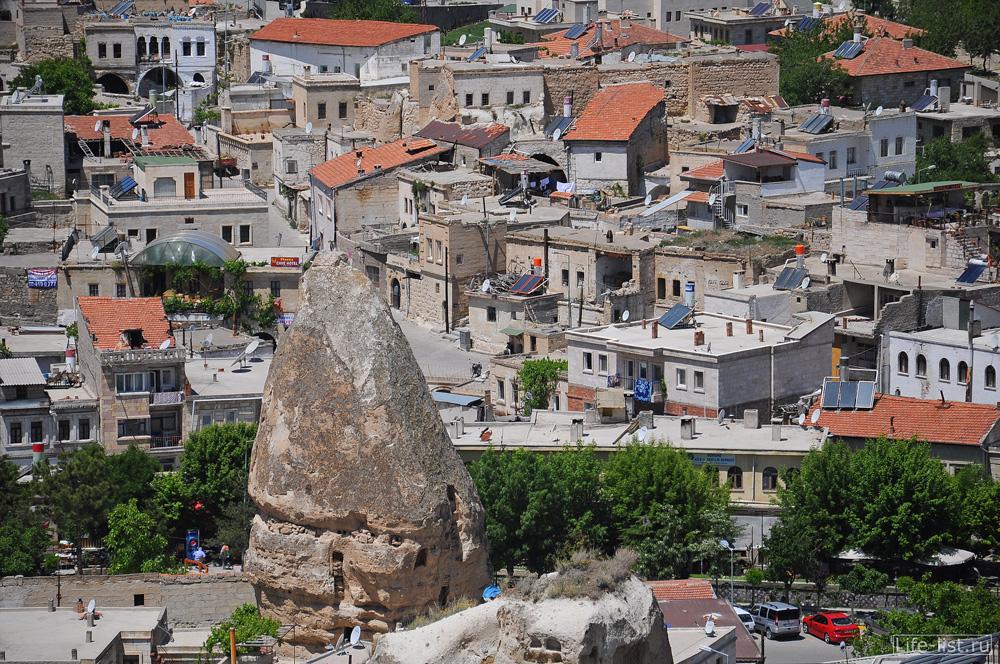Гёреме вид с высоты Турция