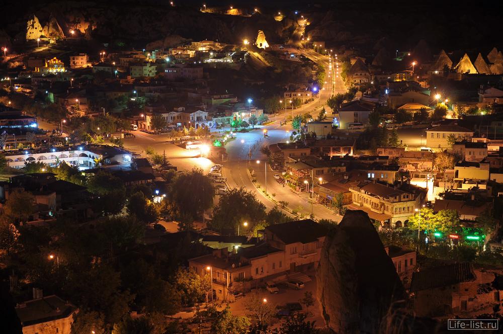 Турецкая деревня Гереме Каппадокия Турция