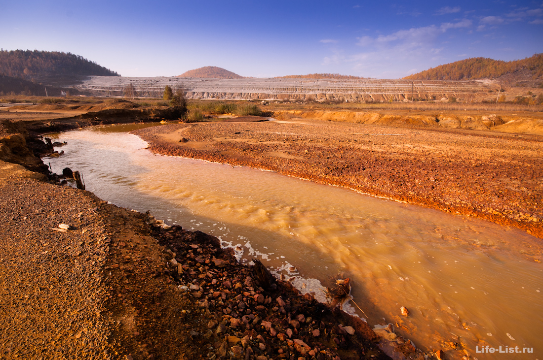 река Сак-Елга Карабаш грязная экология
