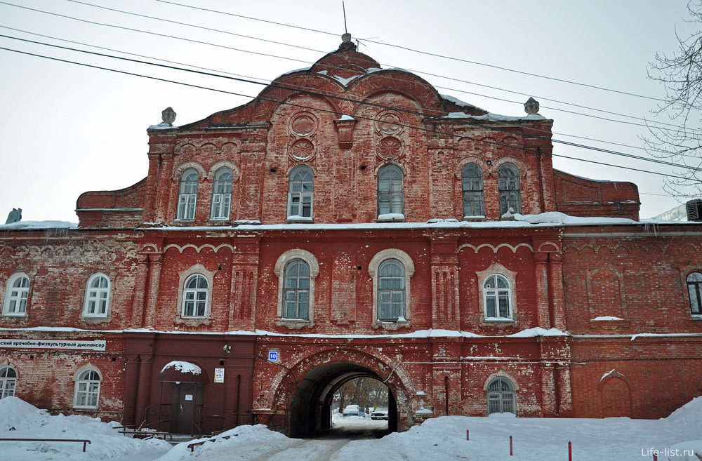 Старое здание Киров