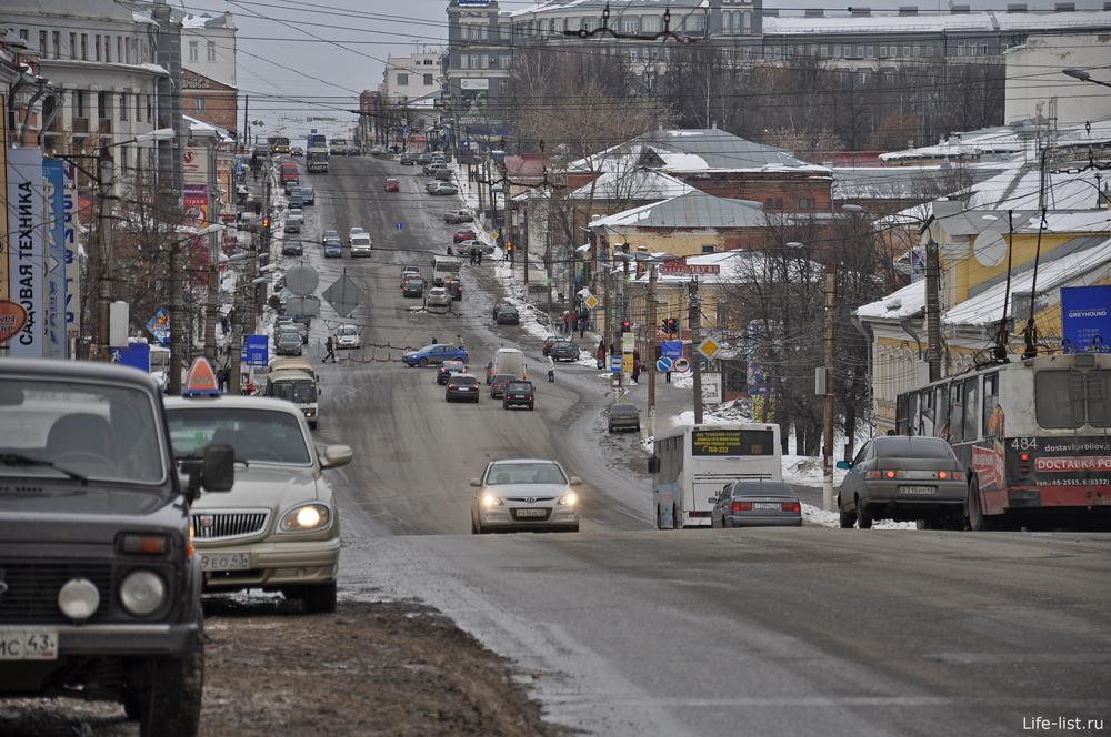 улица Ленина в Кирове