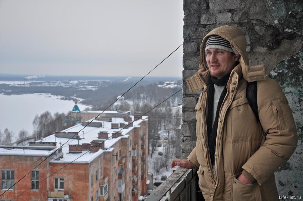 Фото Кирова с высота