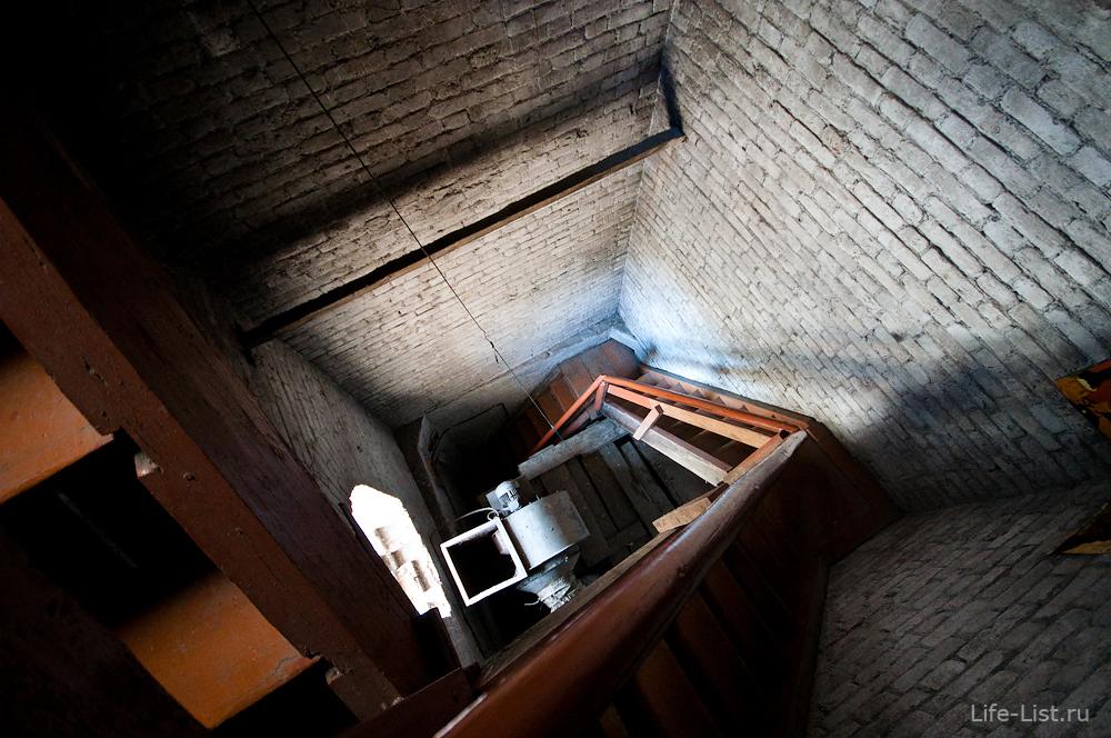 Поднимаемся на колокольню Свято-Троицкого Собора