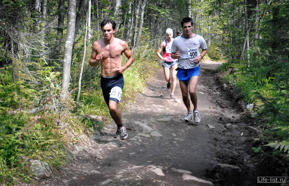 марафонский забег Конжак Краснотурьинск молодые спорсмены