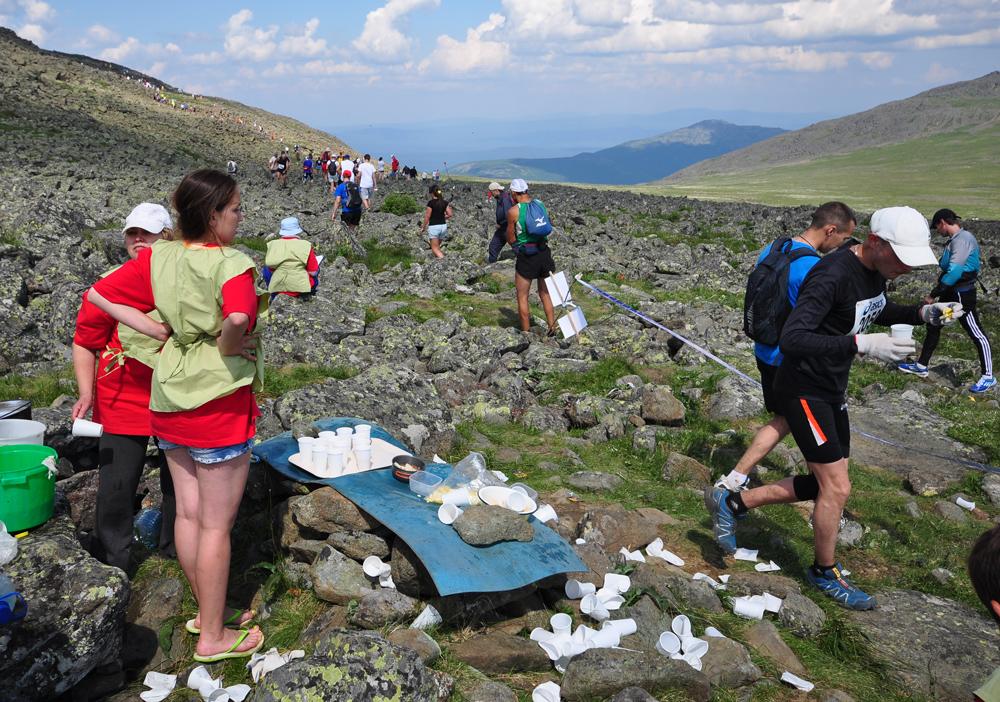 иовское плато КП на марафоне конжак