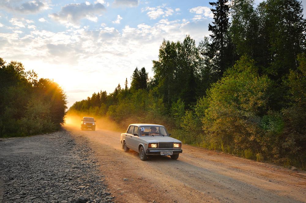 дорога на конжаковский камень марафон