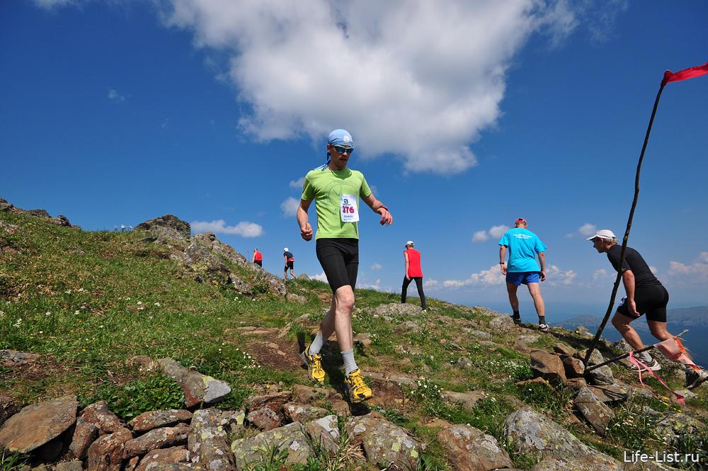 красивые фото горный марафон на конжаке 2013