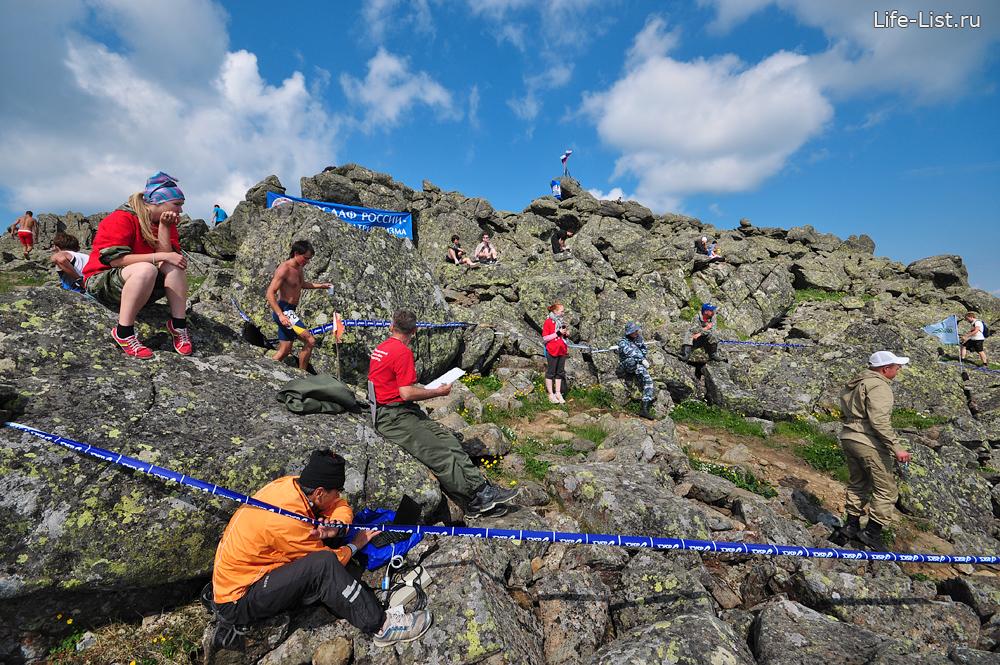 конжаковский марафон КПП вершина фото