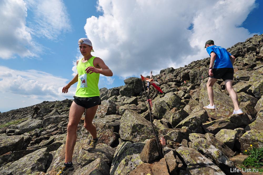 горный марафон на конжаке 2013 фото на вершине горы