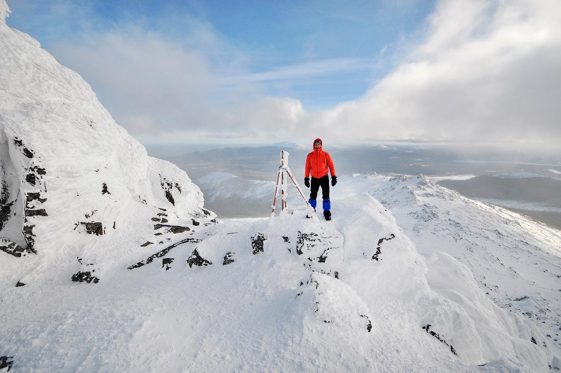 Зимний поход вершина Серебрянского камня северный урал
