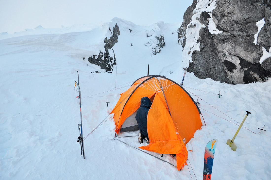 Ночевка палатка фото Серебрянский камень