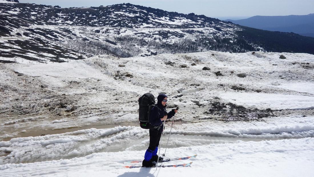 на дунитовой дороге май лыжный поход