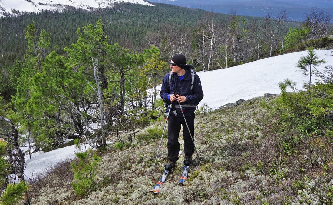 лыжный поход конжаковский массив май Виталий Караван