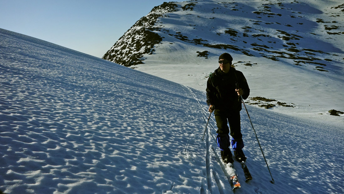 Подъем на Острую Косьву лыжный поход