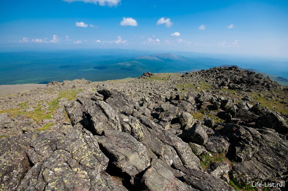 вершина конжаковского камня фотографии
