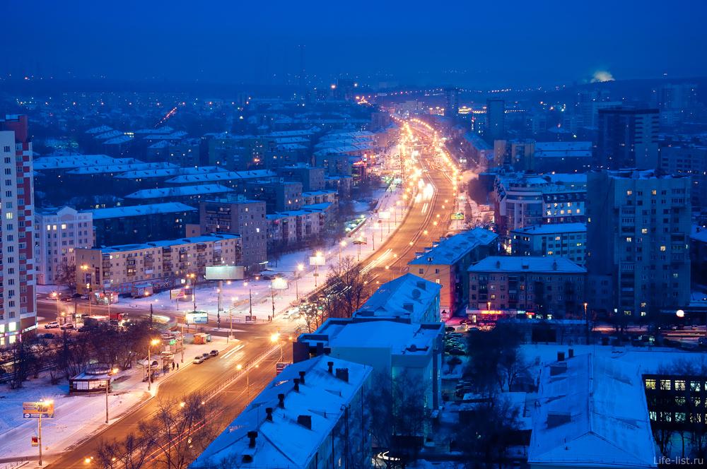 Екатеринбург проспект Космонавтов