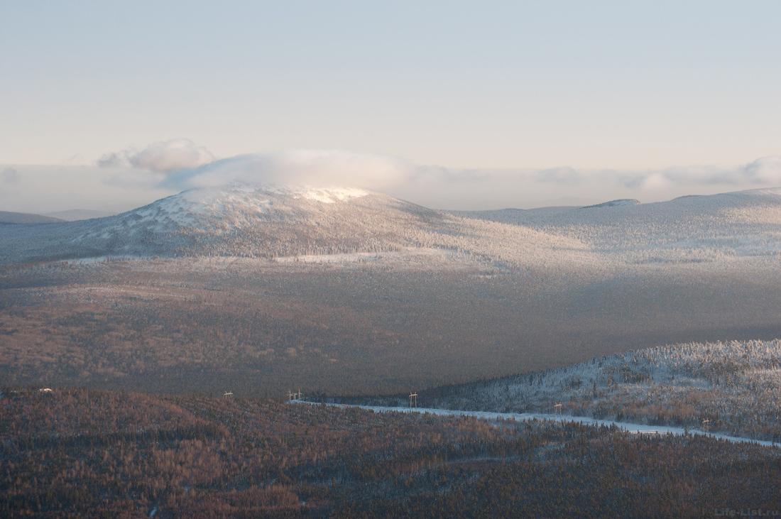 гора Колпак Кытлым Северный Урал