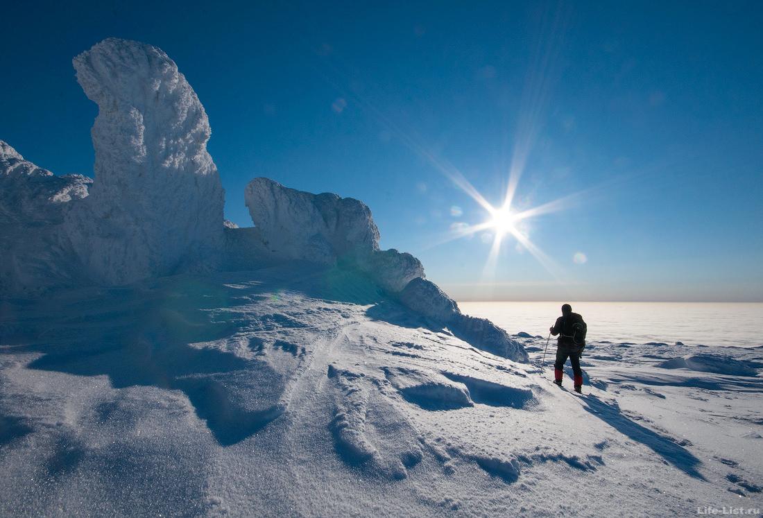 Зимний поход на гору Косьвинский камень Кытлым