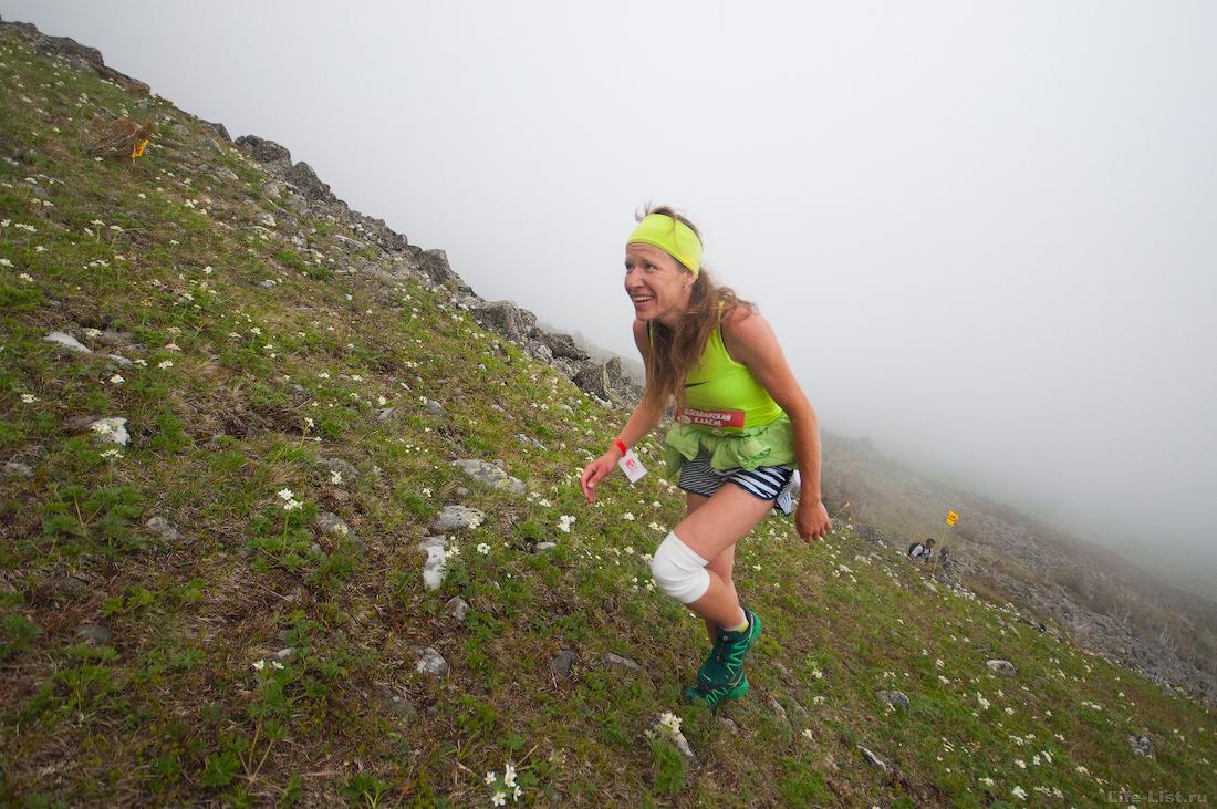 фото участников Вертикальный километр 2017 на горе Косьвинский камень