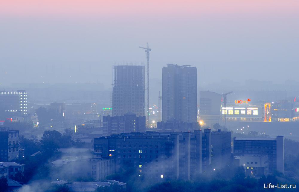 Красноярск фото жк Перья с высоты